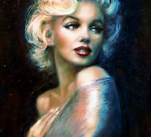 Marilyn WW blue by TheoDanella