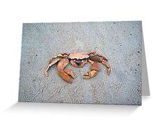 Crab, not Crab! Greeting Card