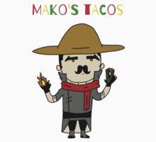 Mako's Tacos One Piece - Short Sleeve