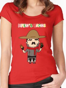 Mako's Tacos Women's Fitted Scoop T-Shirt