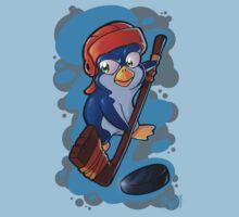 Hockey Penguin One Piece - Short Sleeve