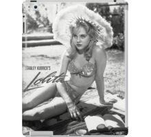 lolita stanley kubrick iPad Case/Skin
