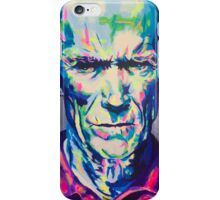 Clint eastwood iPhone Case/Skin