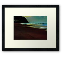 Bar Beach Morning Framed Print
