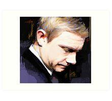 Martin Freeman Artwork Design 1 Art Print