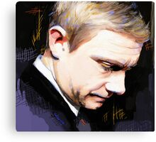 Martin Freeman Artwork Design 1 Canvas Print