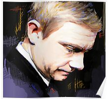 Martin Freeman Artwork Design 1 Poster