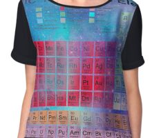 Stardust Periodic Table Chiffon Top