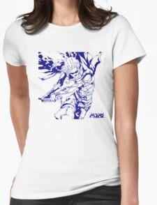 Blue Samurai  Womens Fitted T-Shirt