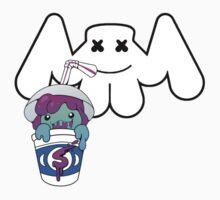 marshmello drinks slushii Official Logo's Kids Tee