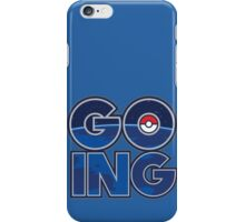 GOING iPhone Case/Skin