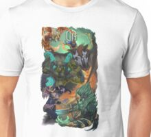 DOTA Team OG Illustration T-Shirt Unisex T-Shirt