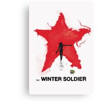the Winter Soldier Canvas Print