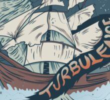 Turbulence Sticker