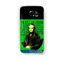 Charles Darwin Quote 2 Samsung Galaxy Case/Skin