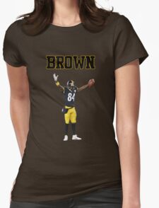 Antonio Brown Womens Fitted T-Shirt