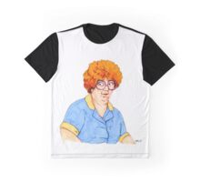 Sandy Friday the 13th Waitress Graphic T-Shirt