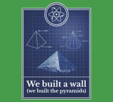 Big Bang Theory - We built the pyramids One Piece - Short Sleeve