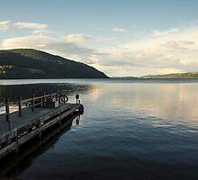 Loch Ness pier  by Rob Hawkins