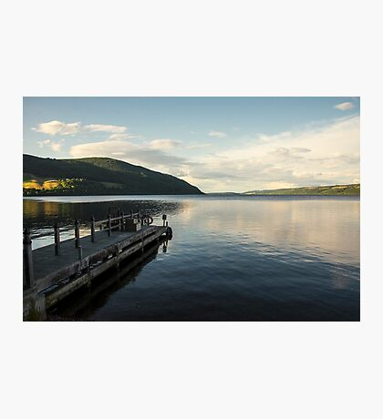 Loch Ness pier  Photographic Print