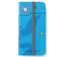 Team Mystic Themed Pokedex Phone Case iPhone Wallet/Case/Skin