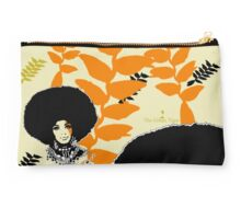 'Hanging Heliconia' Studio Pouch