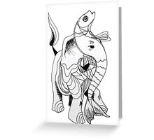 inphant Greeting Card