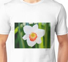 White Daffodil Unisex T-Shirt