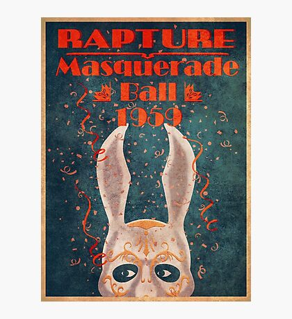 Bioshock - Masquerade ball 1959 Photographic Print