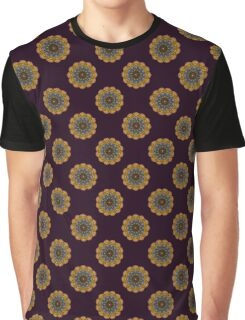 12 Eyes Mandala Graphic T-Shirt