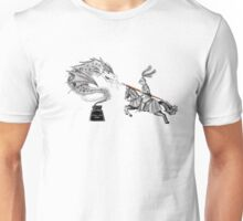 Ink battle Unisex T-Shirt