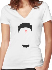 21 Savage Women's Fitted V-Neck T-Shirt