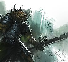 Charr Guild Wars 2 Character by deshmc