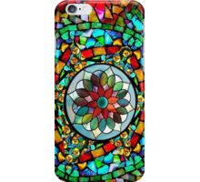 Stained Glass; Flower iPhone Case/Skin