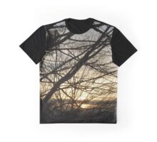 Branches at Sunset Graphic T-Shirt