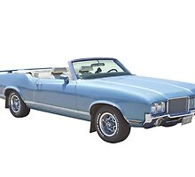 Oldsmobile Cutlass Supreme Muscle Car by KWJphotoart