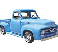 Classic 1955 F100 Ford Pickup Truck by KWJphotoart