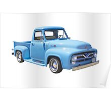 Classic 1955 F100 Ford Pickup Truck Poster