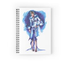 Cold fashion Spiral Notebook