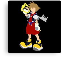 Kingdom Hearts-Sora Canvas Print
