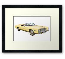 1975 Cadillac Eldorado Convertible Framed Print