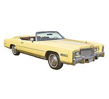 1975 Cadillac Eldorado Convertible Photographic Print