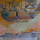 Felixstowe Seaplane over Grand Harbour by Ray-d