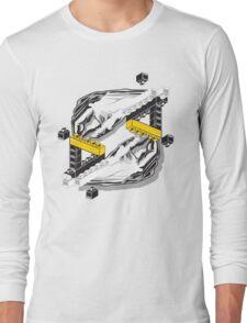 Hands Building Hands - Yellow Long Sleeve T-Shirt