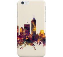 Indianapolis Indiana Skyline iPhone Case/Skin
