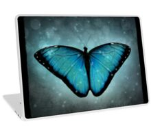 Blue Butterfly Laptop Skin