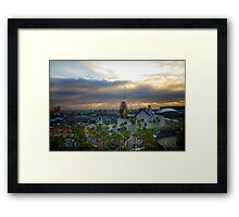 View from Paradise Framed Print