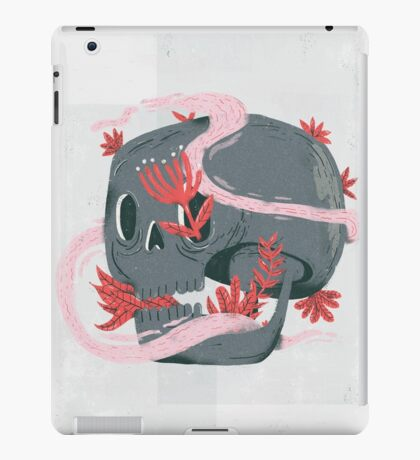 death and silence iPad Case/Skin