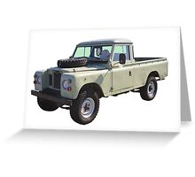 1971 Land Rover Pick up Truck Greeting Card