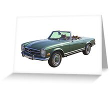 Mercedes Benz 280 SL Convertible Greeting Card